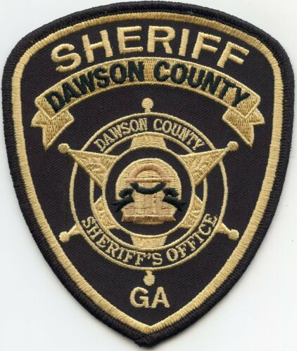 DAWSON COUNTY GEORGIA GA SHERIFF POLICE PATCH
