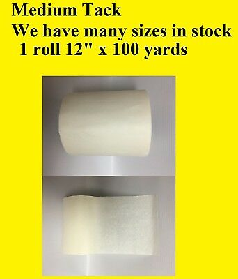 1 Roll 12 X 100 Yards Application Transfer Tape Vinyl Sign Adhesive R Tape Usa