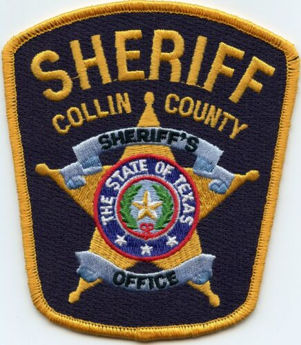COLLIN COUNTY TEXAS TX SHERIFF POLICE PATCH