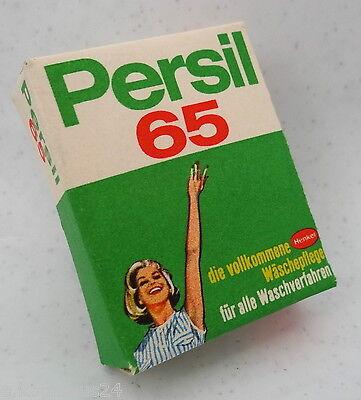 PERSIL 65 Henkel Mini Nostalgie Verpackung Puppenstube Kaufmannsladen Miniatur