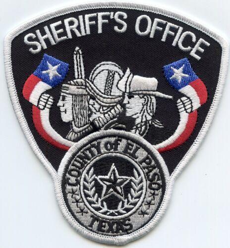 EL PASO COUNTY TEXAS TX Sheriff