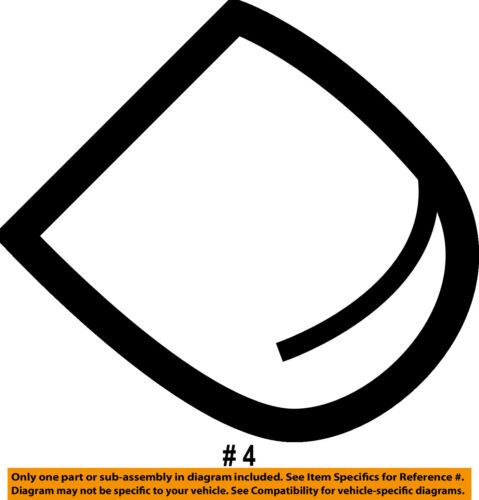 FORD OEM Wiper Washer-Window-Wiper Arm Cover 8G1Z17C526A