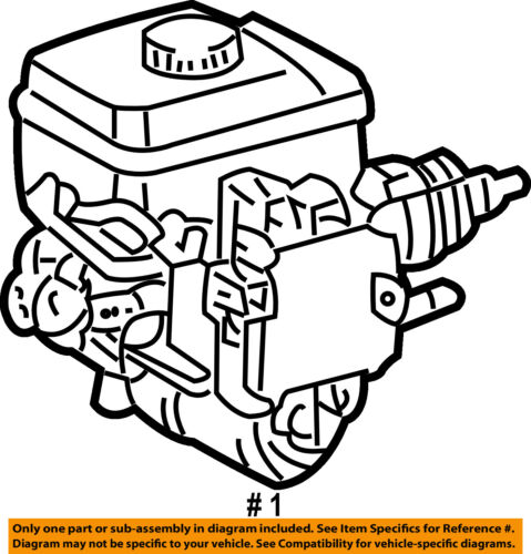 Toyota Oem Brake Master Cylinder 4705060041
