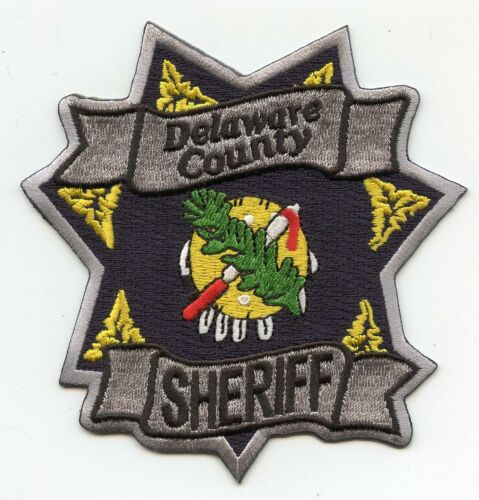 DELAWARE COUNTY OKLAHOMA OK SHERIFF POLICE PATCH