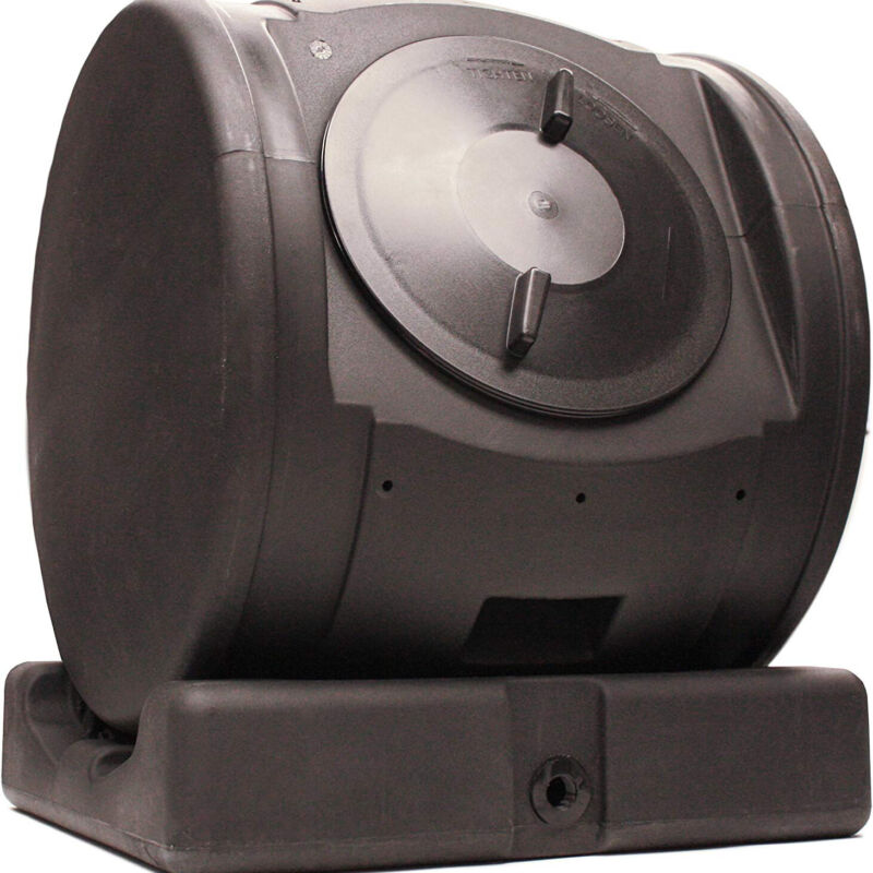 Good Ideas Plastic 6.5-Cubic-Foot Compost Wizard EnviroTumbler Composter (Used)