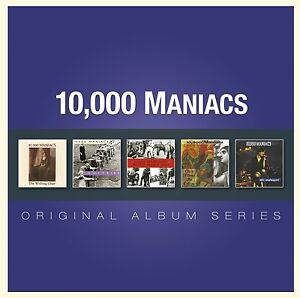 10,000 MANIACS - 5CD ORIGINAL ALBUM SERIES (NEWSEALED) MTV Unplugged In My Tribe