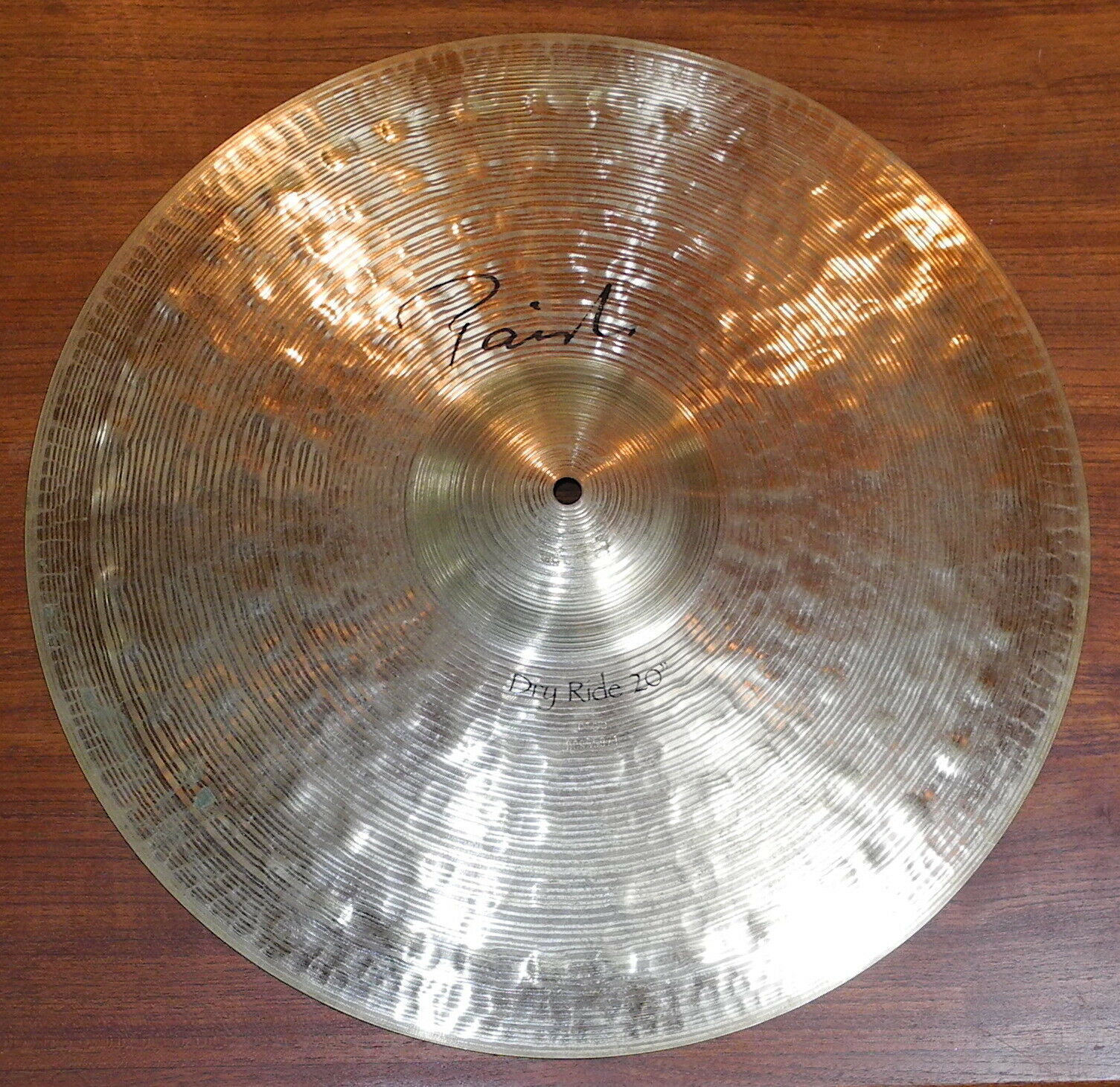Paiste 20 Signature Dry Ride Cymbal Excellent  - $199.99