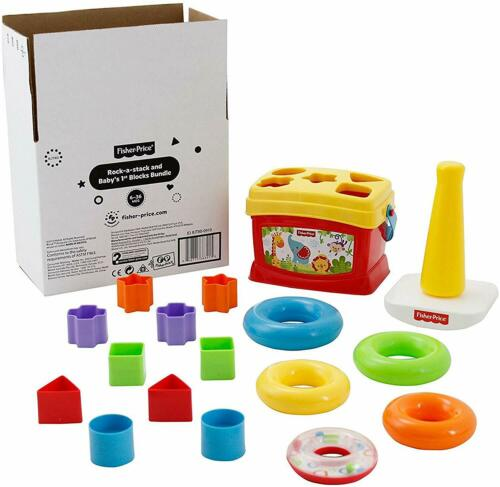 Fisher-Price Rock-a-Stack and Baby