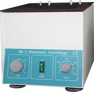 Hfsr Desktop Electric Centrifuge Lab 0-4000 Rpm Cap20ml X 6 Tube 80-1 110v