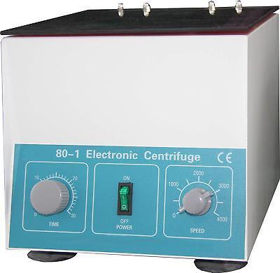 Hfsr Desktop Electric Centrifuge Lab 0-4000 Rpm Cap20ml X 6 Tube 80-1 110v