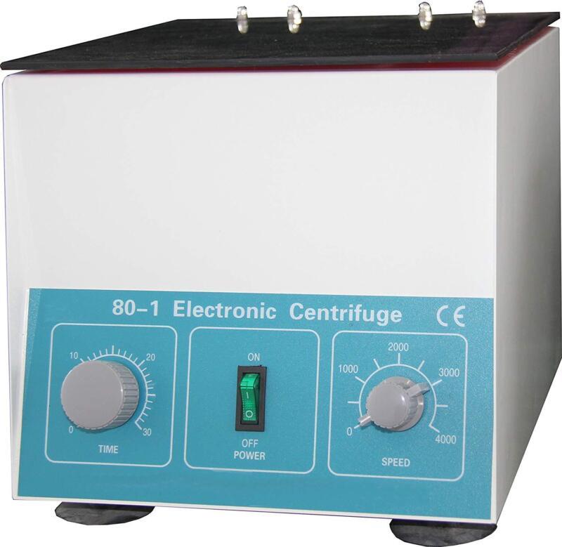 HFS(R) Desktop Electric Centrifuge Lab 0-4000 Rpm Cap:20Ml X 6 Tube (80-1) 110V
