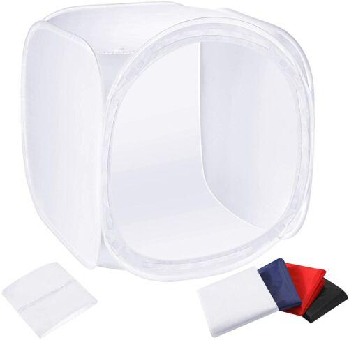 Neewer 24x24 inch Photo Studio Shooting Tent Light Cube Diffusion Soft Box Kit