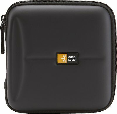 Case Logic CDE-24 24 Capacity Heavy Duty CD Wallet, Black