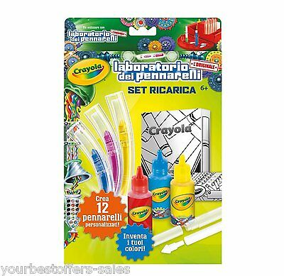 Crayola Marker Maker Kids Crafts Supplies Refill Crayons Craft Kits Colorful New
