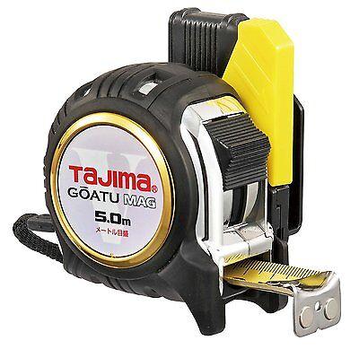 (Tajima Design Measuring Tape 5m Shock Absorber GOATU MAG GASFGLM2550 Japan)