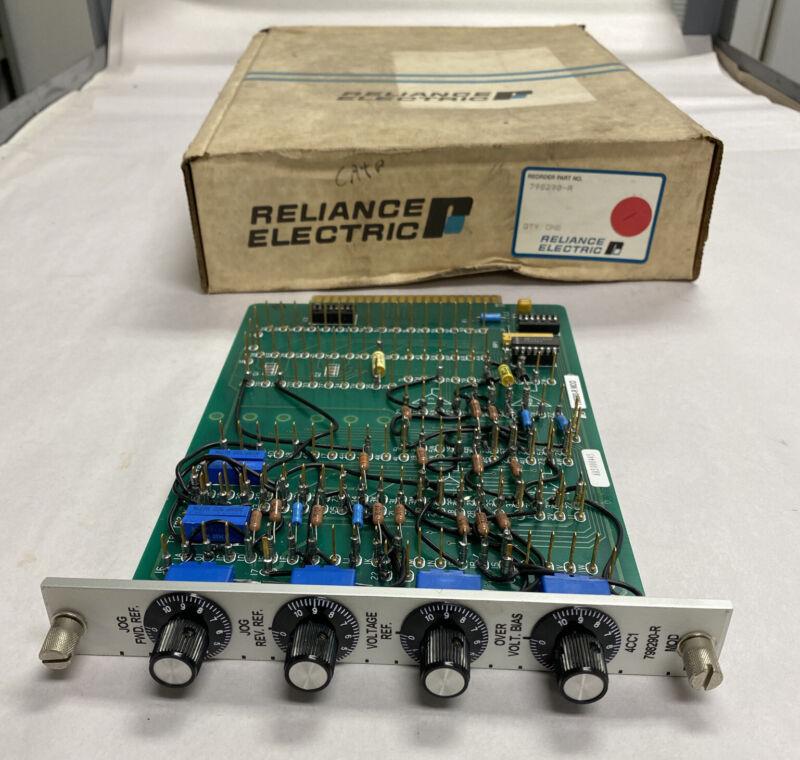Reliance 798290-r Cc Card Nos