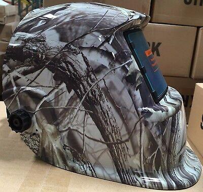 Krk Solar Auto Darkening Welding Helmet Arc Tig Mig Certified Hood Grinding
