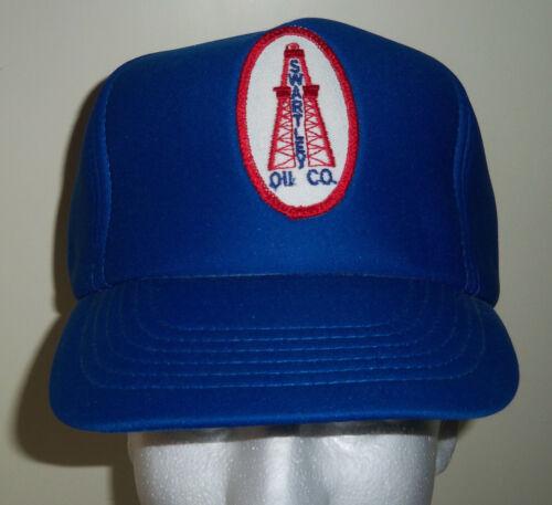 Vintage Swartley Oil Co Trucker Snapback Hat Drilling Rig Patch Heston PA NOS