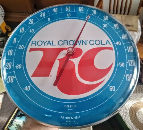 """RARE Nice ROYAL CROWN Soda """"Pam-Style"""" THERMOMETER...L@@K!"""