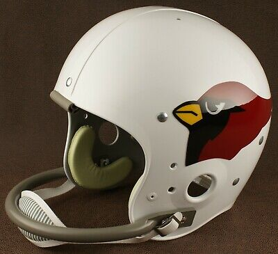 ST. LOUIS CARDINALS 1960-1982 NFL Authentic THROWBACK Football Helmet 1960 Authentic Throwback Helmet
