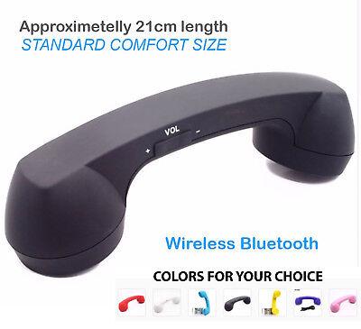 Bluetooth Radiation free Retro Mobile Phone Cellphone Handset fit iPhone 5 6 7 8 Bluetooth Iphone Mobile Handset