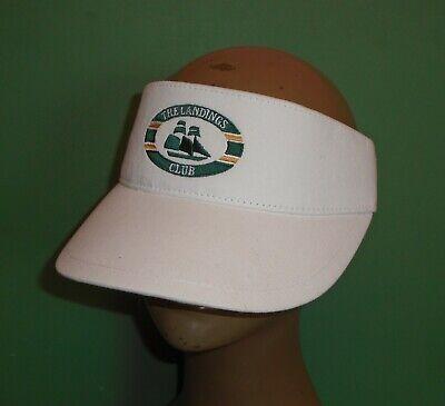 66db4db12be09 The Landings Golf Course Club White Golf Sun Visor Skidaway Island Savannah  GA