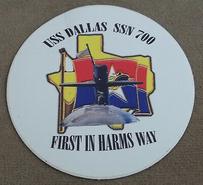 US Navy Decal - Sticker - USS Dallas SSN - 700