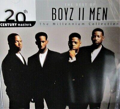 Best of Boyz II Men by Boyz II Men NEW! CD,10 Hit Tracks,Collection, Motown R&B