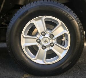 Michelin Defender LTX 275 65R18 with Toyota Alloy Rims