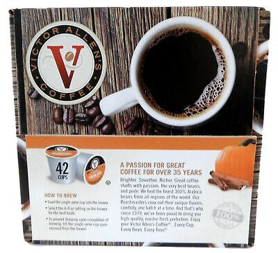 Victor Allen Pumpkin Spice Flavored Coffee K Cups - 42 Count