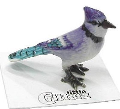 little Critterz Miniature Blue Jay - LC562 (Buy 5 get 6th free!)