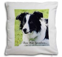 Border Collie Cane 'ti Amo Nonna' Morbido Tipo Velluto Sciolti Cu,ad-co69lyg-cpw -  - ebay.it