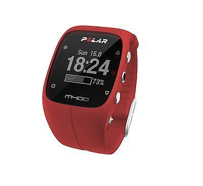 Polar M400 Red HR inkl. Brustgurt H7