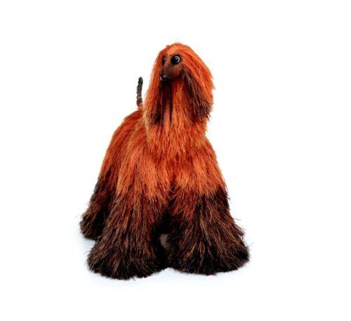 Collectibles Animals Orange Brown Afghan Hound Cute Plush Toy Stuffed Animals
