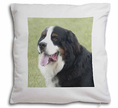 Bernese Mountain Dog Soft Velvet Feel Cushion Cover With Inner Pill, AD-BER1-CPW