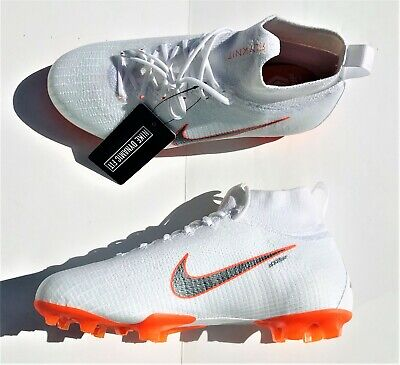 check out dc490 8c7bb Nike Mercurial Superfly VI 6 Elite DF FG ACC White AH7340-107 Youth 5.5Y  Women 7