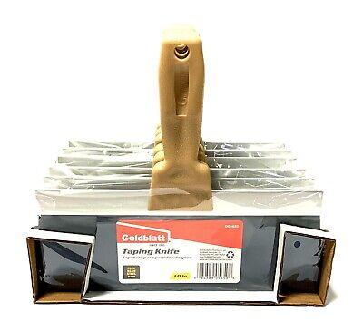 Goldblatt 10 Drywall Taping Knife Flexible Blue Steel 6 Pack G05650