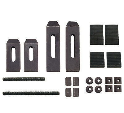 24 Piece Clamping Kit For Small Milling Machines With .305 Table Slots