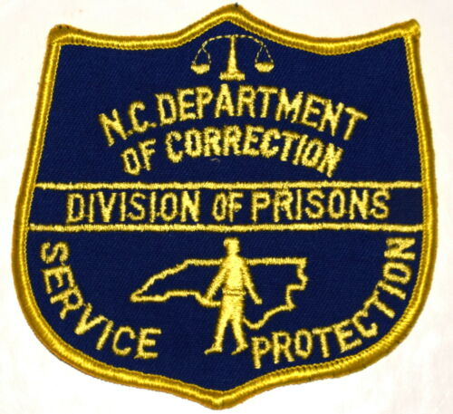 NC – DEPT CORRECTION – NORTH CAROLINA Police Sheriff Patch PRISONS ~