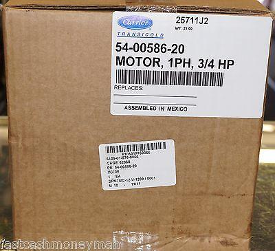 Carrier Transicold 54-00586-20 Condenser Fan Motor 69nt40-489-100 Refrigeration