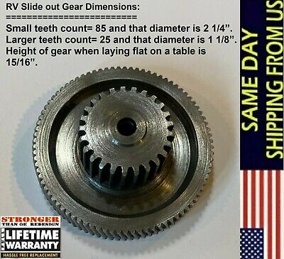 RV Lippert Tuson Slide Out Motor Gear 18:1 Ratio Venture Actuator Replacement Rv Slide Out