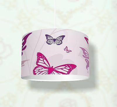 """Kinderzimmer Lampenschirm """"Butterfly"""" KL05 - einsetzbar als Steh- / Deckenlampe"""