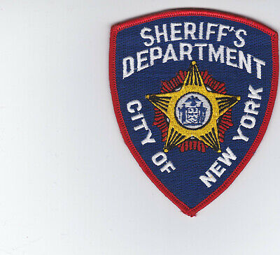 NYPD NYST New York State Police Sheriff´s Department Patch