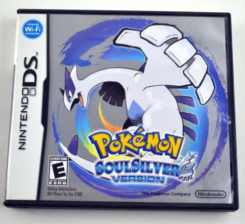 Pokemon Soulsilver Nintendo DS Authentic Game Case Only No Manuals No Game
