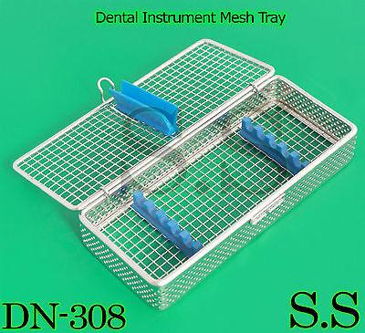Dental Instrument Sterilization Cassette For 5pcs Stainless Mesh Tray Dn-308