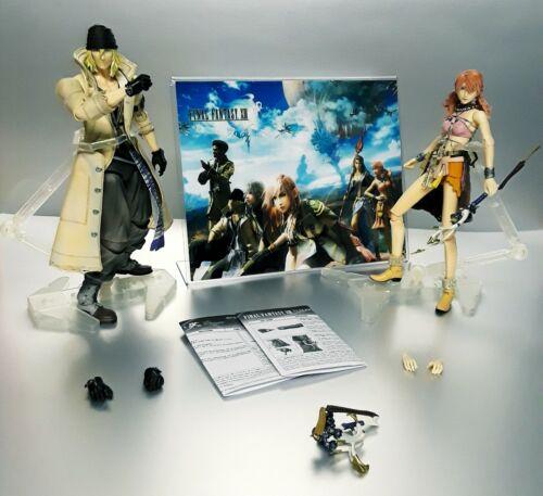 Final Fantasy XIII Snow & Oerba Action Figure Lot Play Arts Kai Square Enix neca