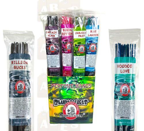 "BluntEffects Long JUMBO Incense Sticks Air Freshener 19"" 30ct Hand Dipped CHOOSE"