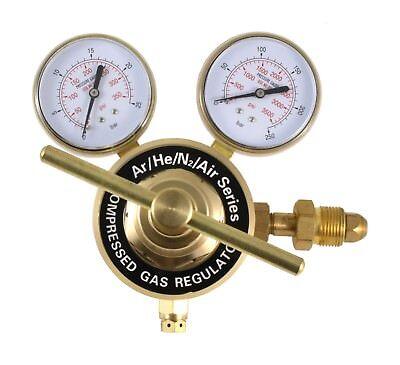 High Flow Regulator For Inert Gases Nitrogen - Inlet Cga-580 - Outlet 12 Npt