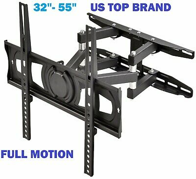 Articulating Smart TV Wall Mount Full Motion Swivel Bracket LCD LED