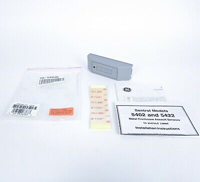 Sentrol 5402 Metal Enclosure Assault Sensor W Adhesive Mount 3.46 Gray